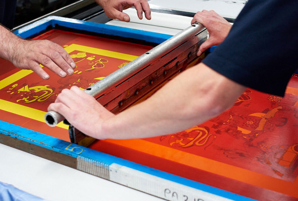 Screen Printing - Adamley Textiles